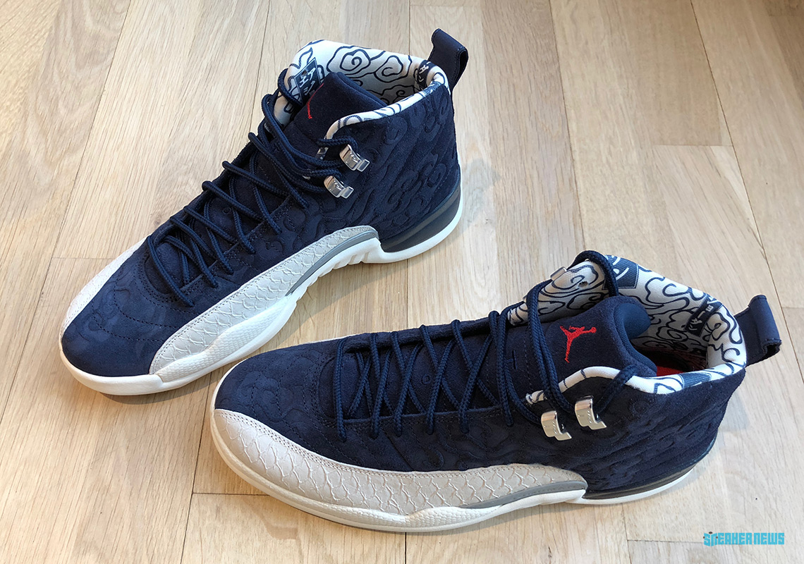 "dcce2200647bba Air Jordan 12 ""International Flight"" Drops September 8th - fablog"
