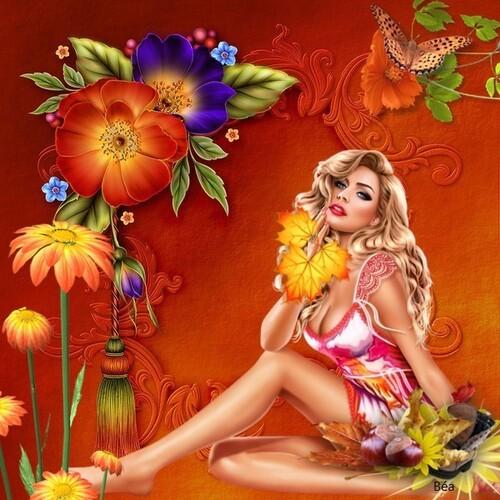défi  Beauty''Jazzman''  et Fée Capucine''bonjour l'automne''