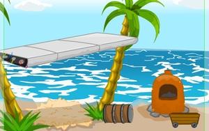 Jouer à Escape survivor island day 4