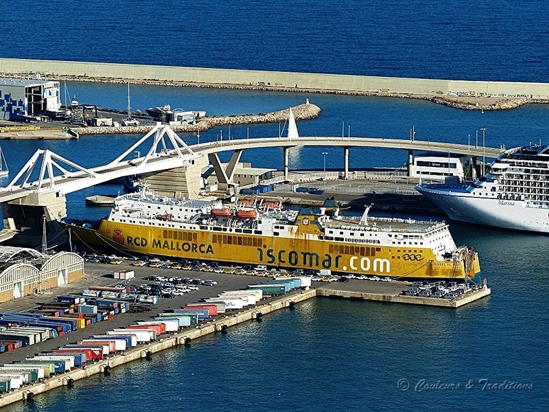 Installations portuaires de Barcelone