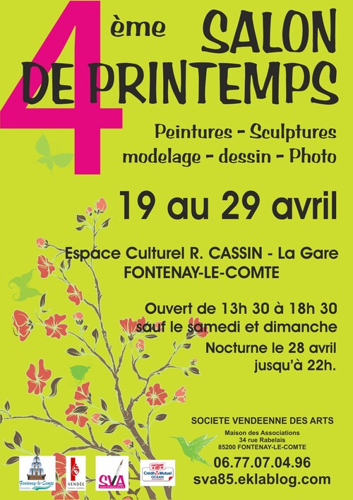 Salon de printemps - 19 au 29 avril 2016