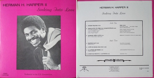 HERMAN H. HARPER II - BEST OF LOADSTONE RECORDS - 1988