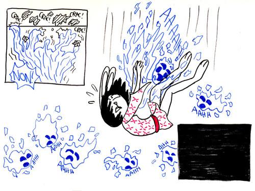 Un yokai au plafond [Les 25H de la BD 2016]