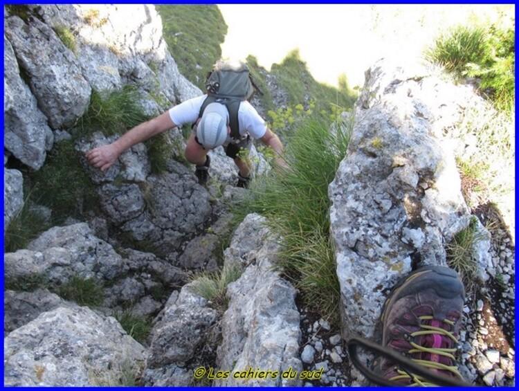 Hautes Alpes, le sommet de la petite Céüse