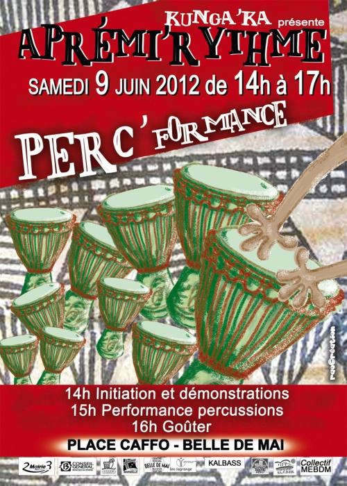 Aprémi'Rythme 2012 - Marseille - Place Caffo