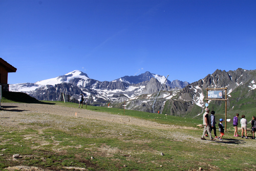 Aiguille Percée Tignes Vanoise Savoie 73 France