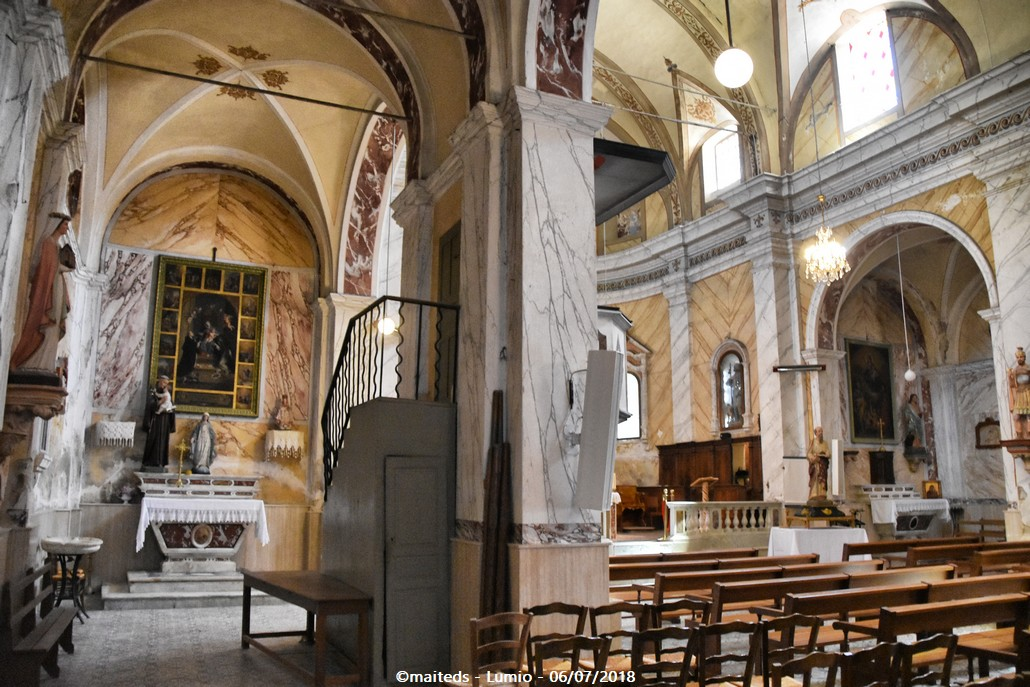 Eglise Sainte-Marie - Lumio - Corse
