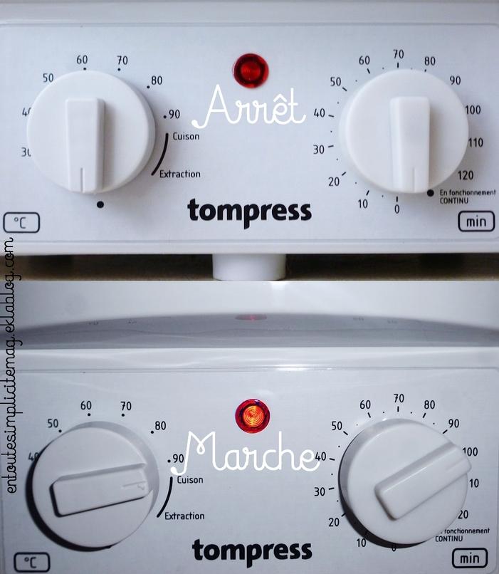 Conserves : stérilisateur émaille électrique avec minuterie de Tom Press