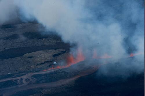 De magnifiques photos du volcan ce jour