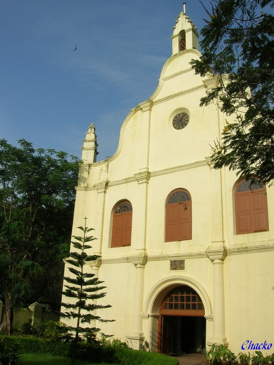 Inde, Cochin, Eglise St Francis