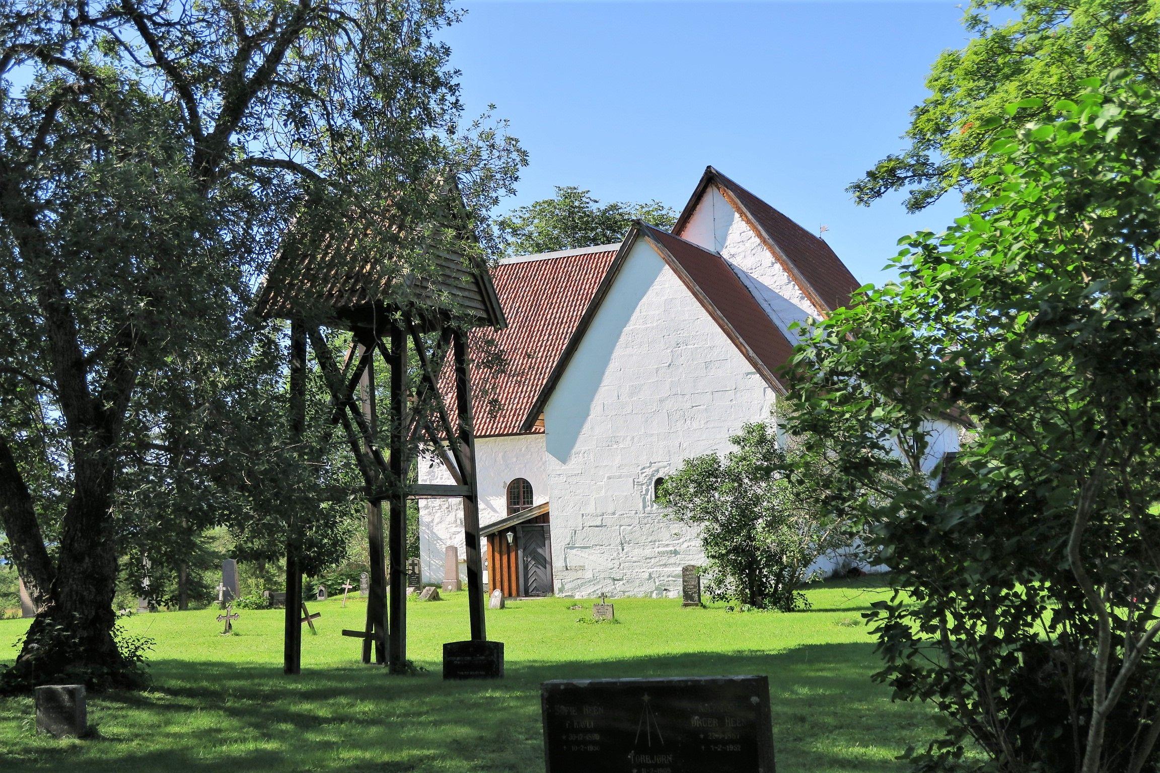 L'ancienne église de Gildeskål