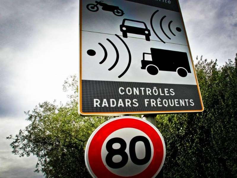 80 km/h : le nombre de PV en forte augmentation