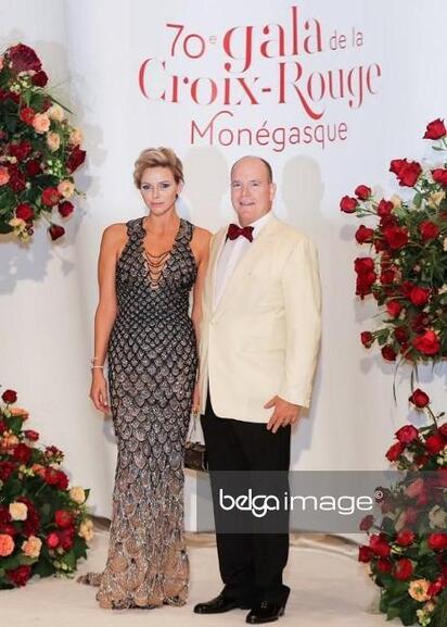 70 eme gala de la croix rouge à Monaco