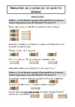Multiples, diviseurs et divisions