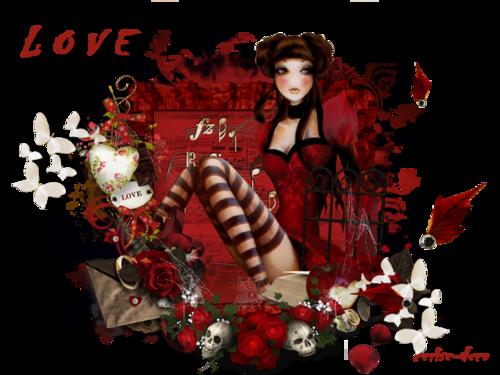 un gif love -saint valentin