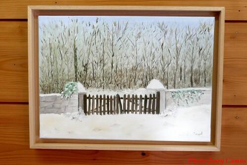 -Dominique Masson , peintre à Villaines en Duesmois