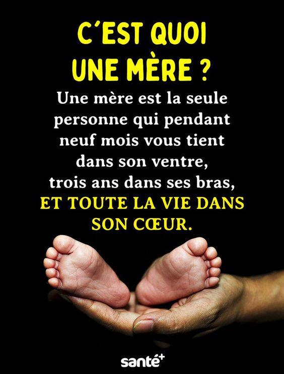 C'est quoi une mère ? Une mère est la seule personne qui pendant neuf mois... - #c39est #est #La #Mère #Mois #neuf #Pendant #personne #Qui #quoi #seule #une