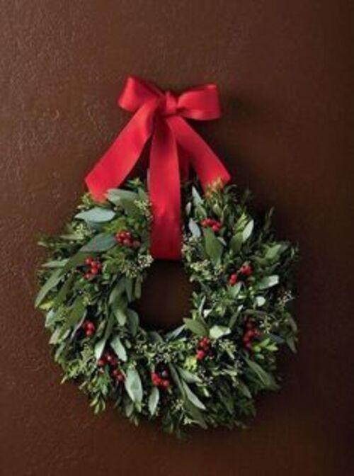 Couronnes de Noël(suite)