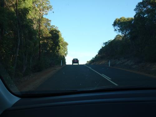La route en Australie