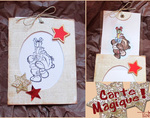 Carte Magique - Crop de Noël 2013