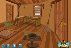 Jouer à Forest hut escape