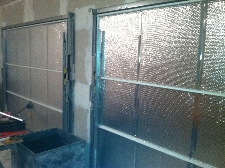 Isolant porte de garage - Kit isolation porte garage ...