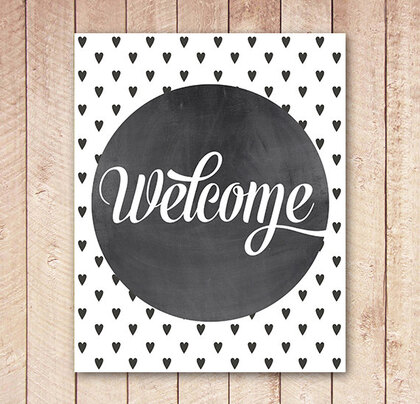Bienvenue , welcome . . .