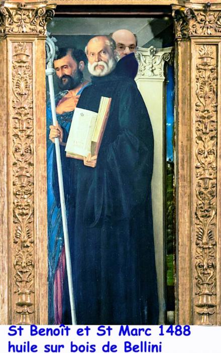 Saint Benoît/ bénédictins