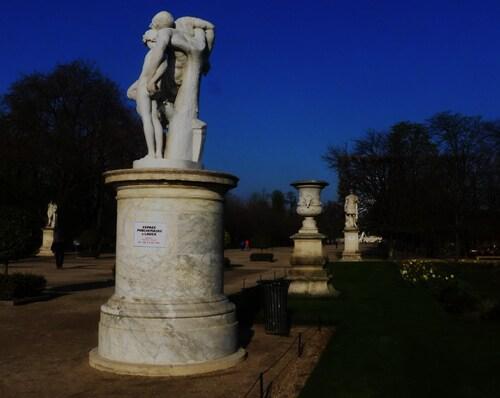 Et maintenant les Jardins du Louvre!!!!!!!!!!