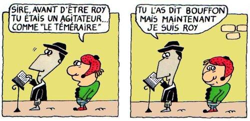Louis XI : strips 1