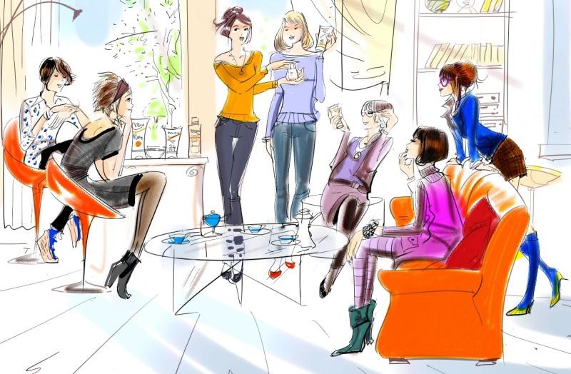 organiser reunion vente a domicile