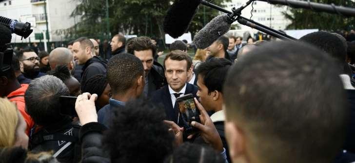 Macron veut rénover la presse
