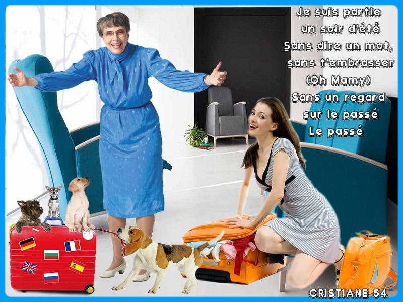 """Sur le blog du partage pour Manik """" Mamie Blue """" Nicoletta"""