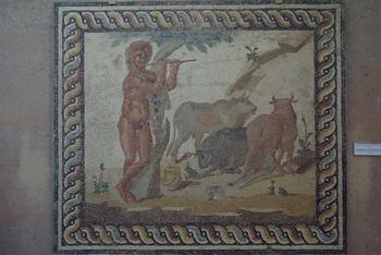 Ancienne Corinthe - mosaique