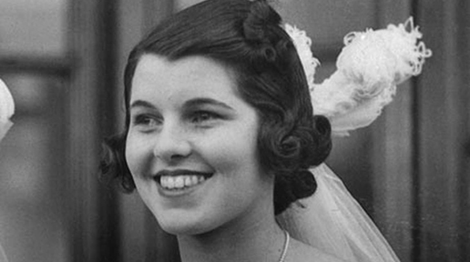 A youthful Rosemary Kennedy.
