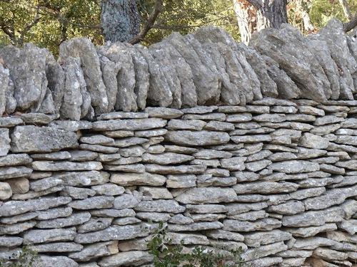 Murs et bories (Gordes)