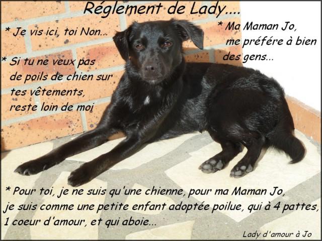 Réglement de Lady