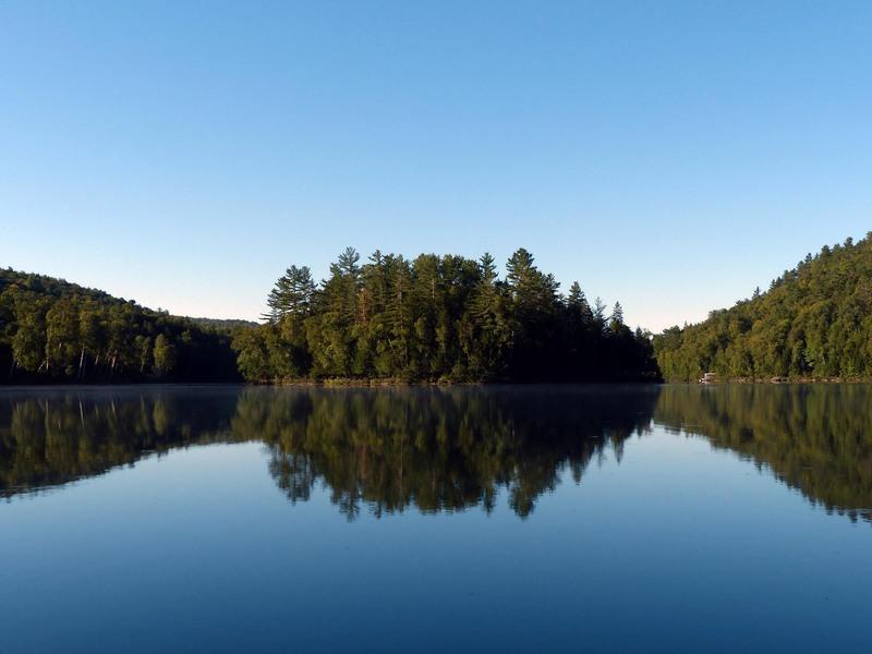 Un bonjour de Duhamel (Petit lac Preston) - Québec - Canada