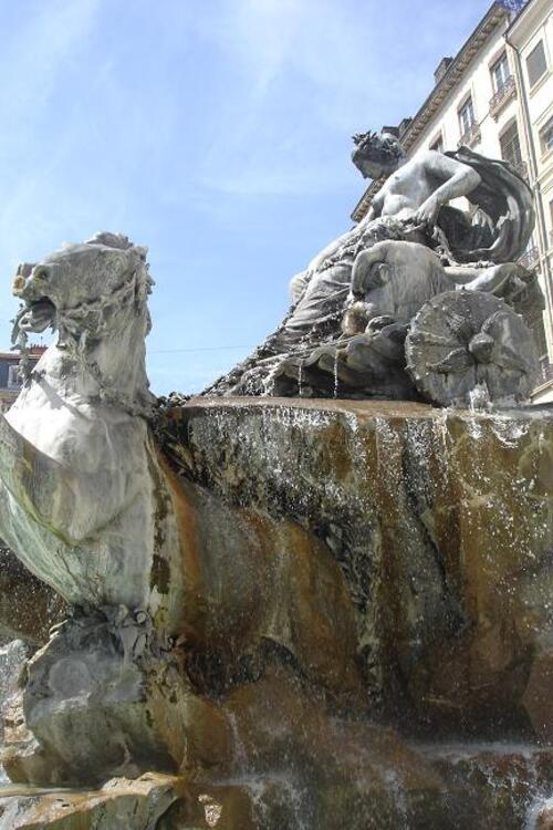 Belles fontaines de Lyon