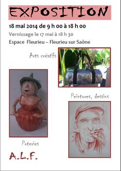 Exposition des Artistes de l'ALF - dimanche 18 mai de 10h à 18h