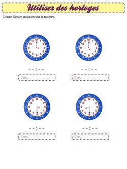 exercices de maths - cycle 2 programmes 2016