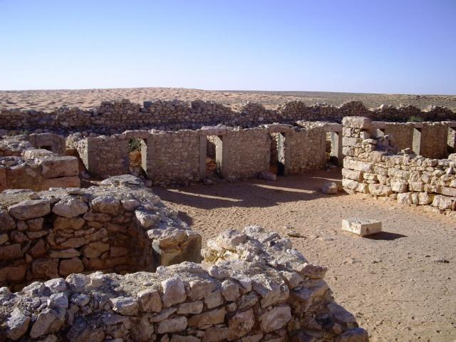 Ce qui reste des cellules d'incarcération du bagne du Fort