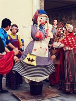 L'épouvantail de Mardi Gras, la Russie