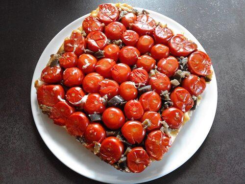 tarte tomates cerises en tatin