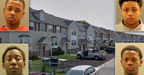 Quatre ados de 12 à 14 ans violent une jeune fille