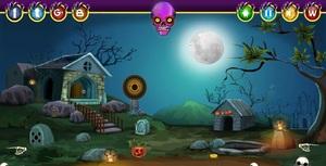 Jouer à Halloween cursed princess escape