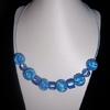 collier fleur bleu 10euros