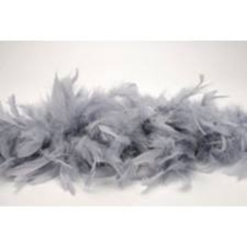 boa plume grise