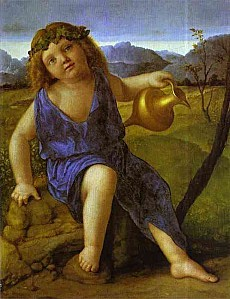 Giovanni Bellini - The Infant Bacchus
