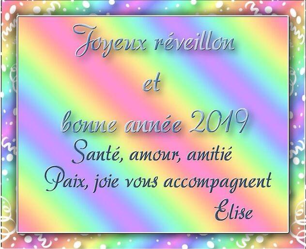 BONNE ANNEE 2019 -    CREAS CADEAU DE MES AMI(e)S ....
